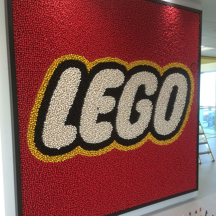 Lego Blue Brick – London