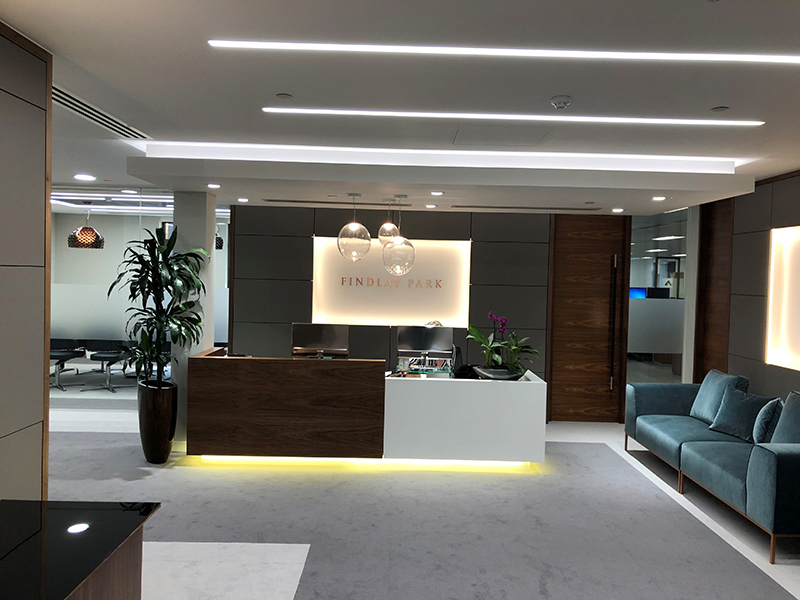 Interior Design Fit-Out – Kings Street, London